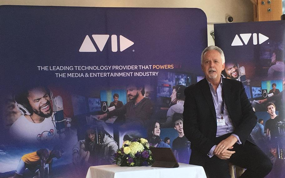 Avid CEO Jeff Rosica at IBC 2018