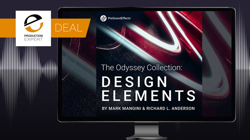 Avid Offer 50% Off Design Elements Sound Effects Library From Pro Sound Effects Until November 30th 2018
