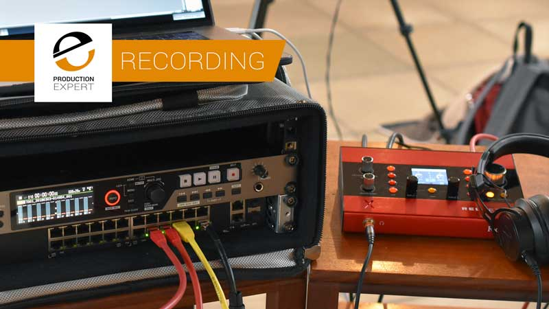 Focusrite X2P Is the Hub Of Our DANTE Recording Solution
