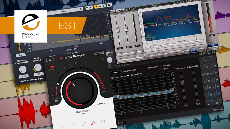 Check Out Our Test Of 4 Top Noise Reduction Plug-ins That Quickly