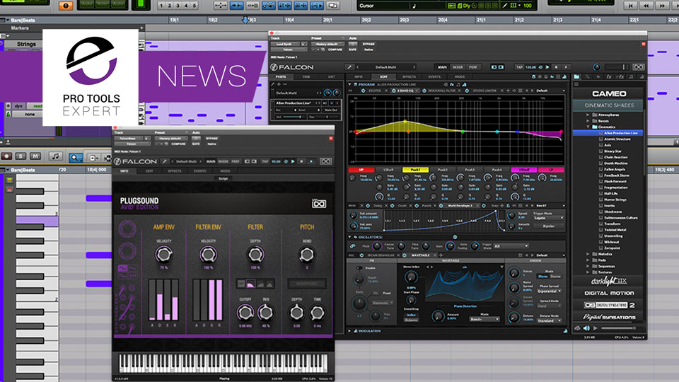 UVI Virtual Instruments Come To Pro Tools 2018