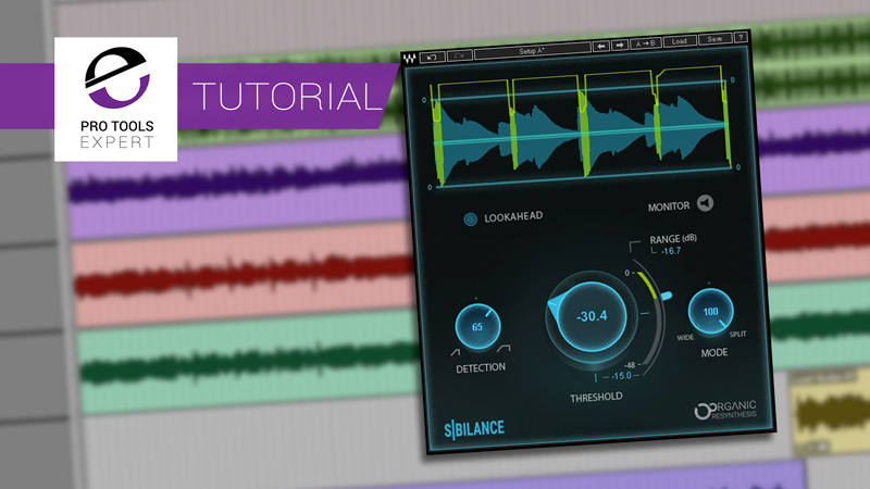 Pro Tools | Waves New Sibilance De-Esser Plug-in Makes Mixing Your