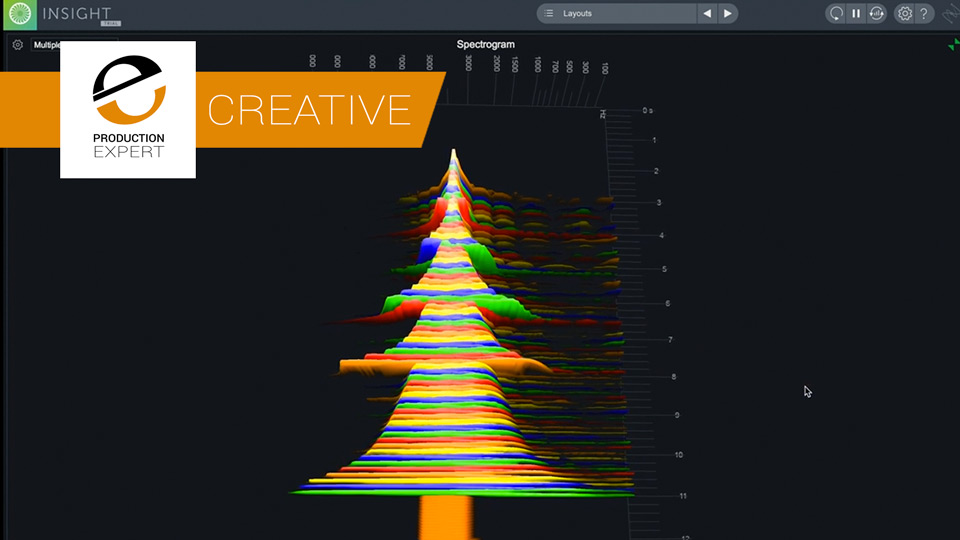 Using Insight 2 From iZotope To Create A Christmas Tree