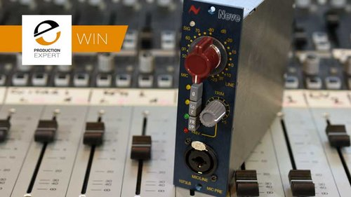 Winner Of A Neve 1073LB 500 Series Microphone Preamp Worth