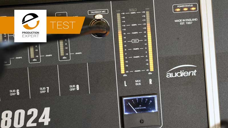 The Audio Summing Debate - Can You Tell The Difference? Forth Test Audient ASP8024 Console