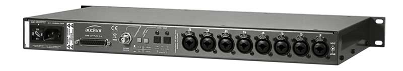 Audient ASP800 Around the Back
