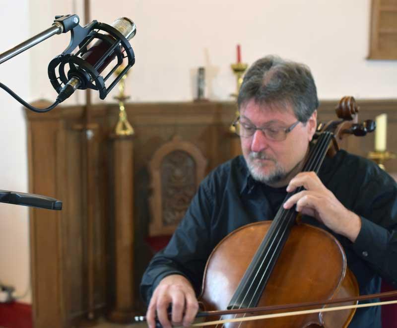 Vanguard V4 On Cello