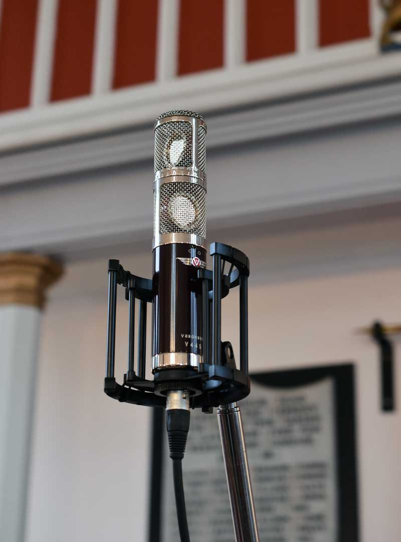 Vanguard V44S Stereo Mic Used To Record The Church