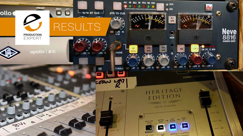 The Audio Summing Debate - Can You Tell The Difference? Sixth Test Mixer X!