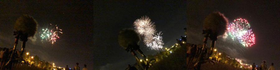 Fireworks in Ambisonics