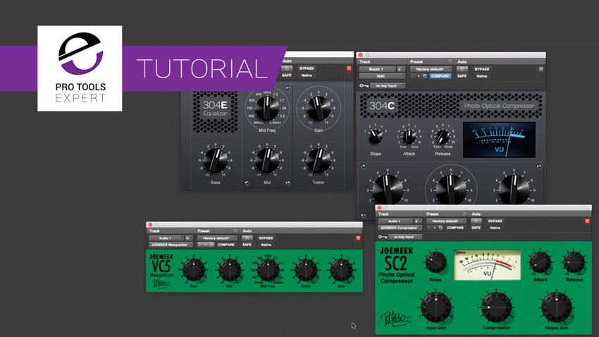 Avid 304 E and 304 C - New Plugins Replace The Old Joe Meek Plug-ins. They Sound the Same As The Green Plug-ins. Should You Be Using Them?