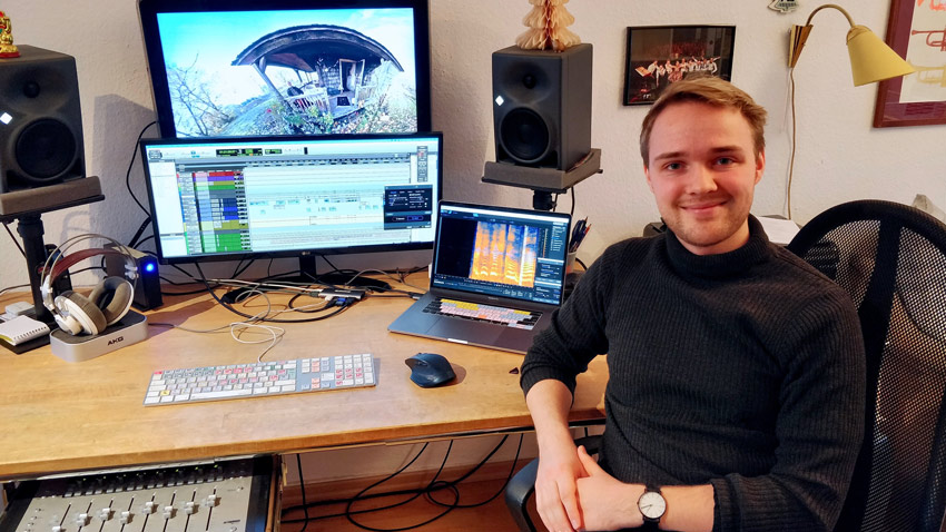 Adrian Lorenz - Winner Of the Tonsturm Complete Sound Library With Over 250GB Of Sound Effects Worth $2,309
