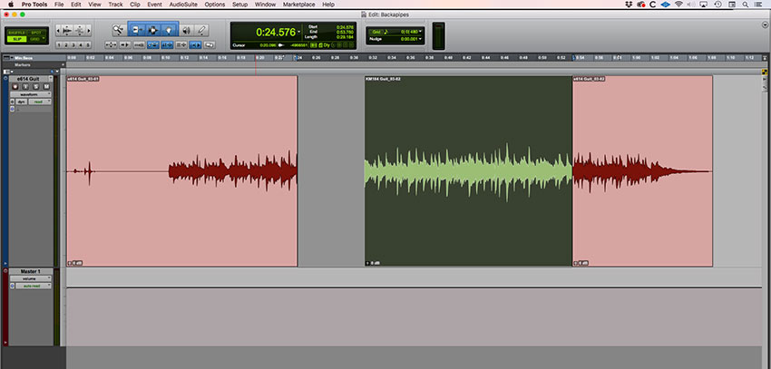 Using Edit - Trim End To Fill Selection extends the green clip to the end of the edit selection. As we see here.