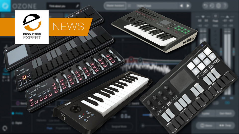 iZotope Announce That Ozone Elements Will Be Bundled Free With Korg MIDI Controllers