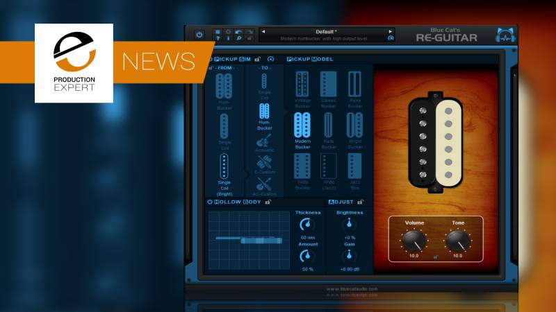 Blue Cat Audio Announce New Re-Guitar Plug-in. Emulate Acoustic & Electric Guitar Tones From One Guitar.jpg