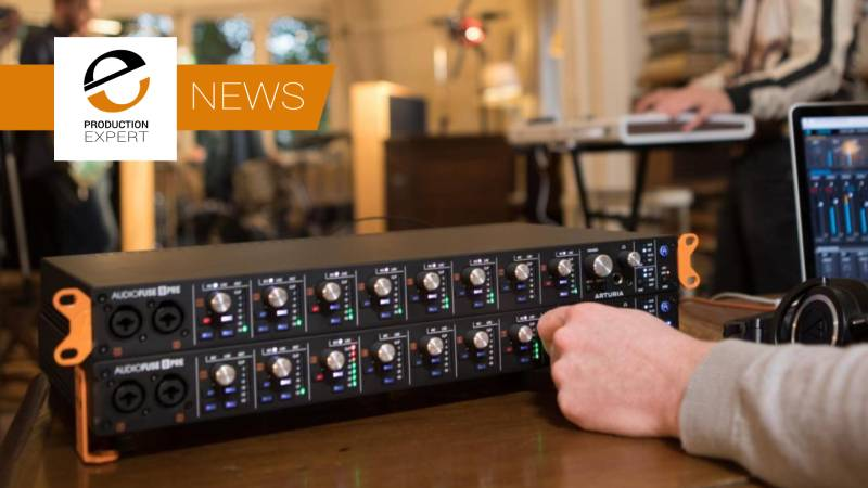 Arturia Announce New Audiofuse 8PRE Audio Interface - Use Two Simultaneously For A Complete 16 Channel Recording Solution.jpg