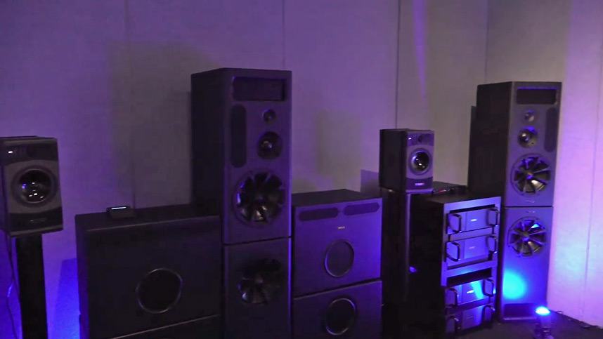 PMC Dolby Atmos Demo Room at NAMM 2019