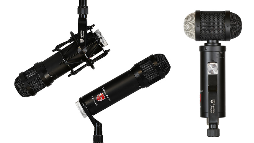 Lauten Audio LS-208 And LS-308 Microphones