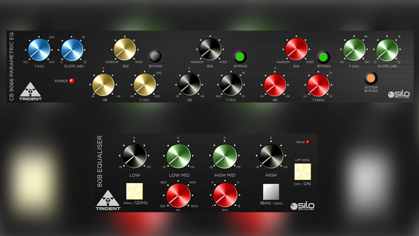 Trident 80B EQ and CB 9066 EQ Plug-ins From Silo Sound Labs