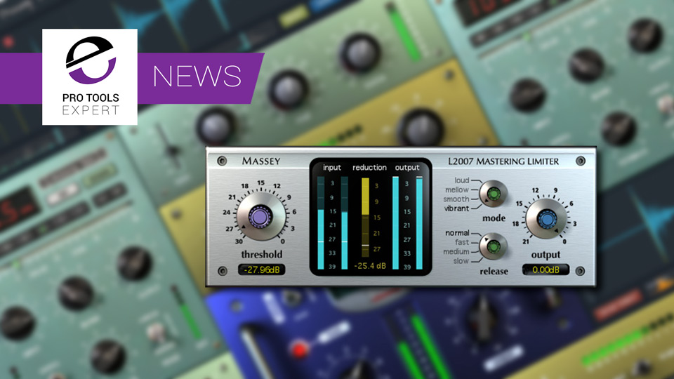 Massey Plugins Announce AAX Plug-ins For Windows Users In 2019
