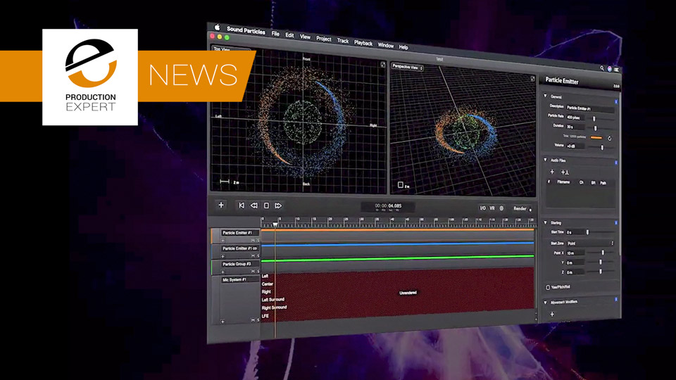 Sound Particles 2.0 Announced With Binaural Monitoring, Windows Support, Ambisonics Support And More