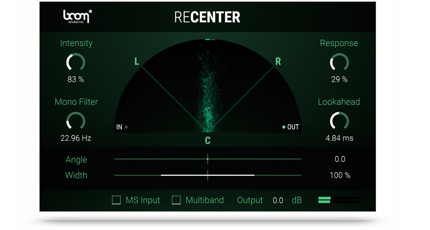 Fix Off- Centre Stereo Recordings