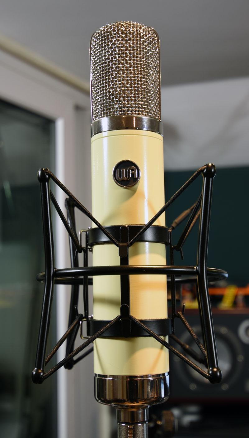 Warm Audio WA-251 In It's Shock Mount