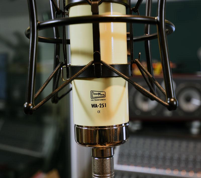 Warm Audio WA-251 Uses CineMag Transformers