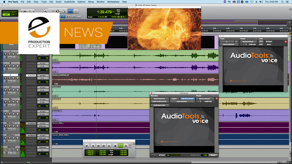 "Telos Alliance Release AudioTools Voice ""A Dialogue Intelligibility Enhancement Solution"""
