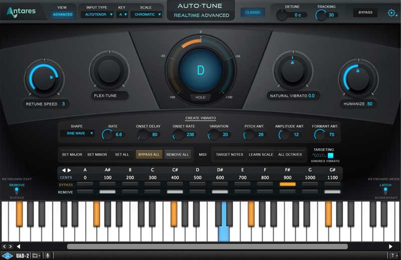Antares Auto-Tune Realtime Advanced