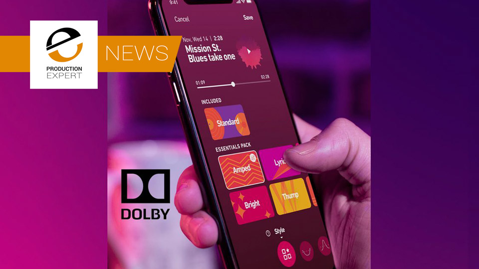 Dolby Trialing iOS App That Measures And Then Removes Background Noise From A Recording