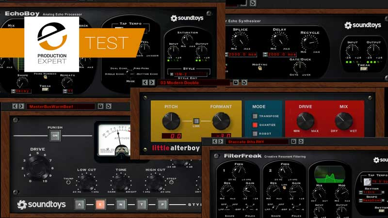Marc JB Tests Soundtoys 5 for Production Expert