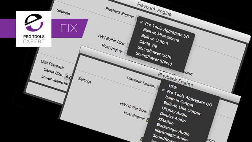 Pro Tools Quick Tips - Change Playback Engine On Startup