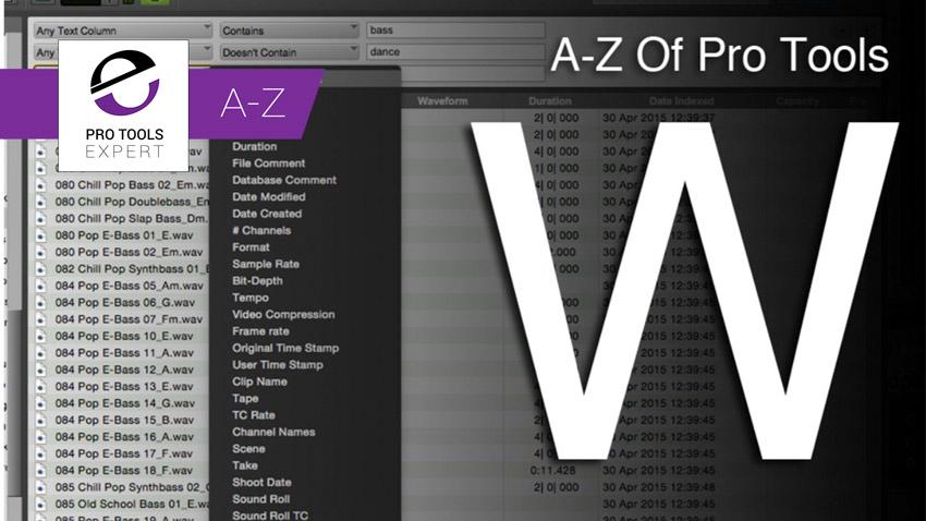 A-Z W Banner