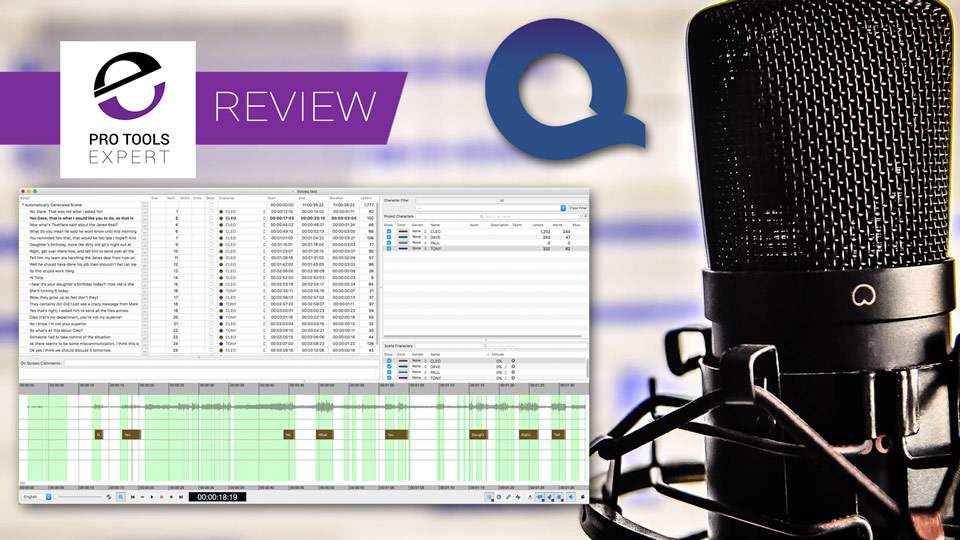Are You Producing ADR? We Test VoiceQ To See If It Helps You To Get The Job Done Quicker