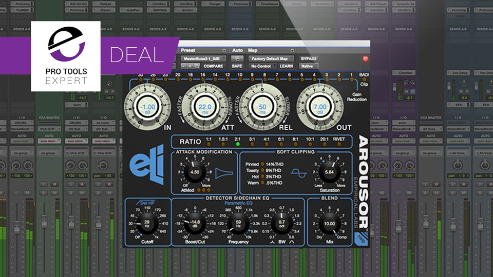 Avid Offer 35% Off Empirical Lab's Iconic Arousor Compressor Plug-in Until March 19th 2019