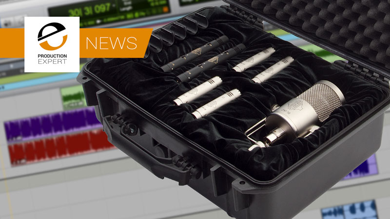 Sontronics Announce New Drumpacks Featuring DM-1B, DM-1S, DM-1T & STC-1 Microphones - Make Your Drums Sound As Good As They Can