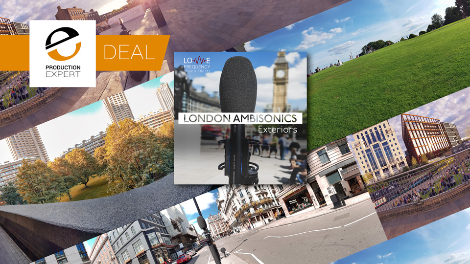 Save 30% And Buy London Ambisonics Sound Library For $42 Until March 31st 2019
