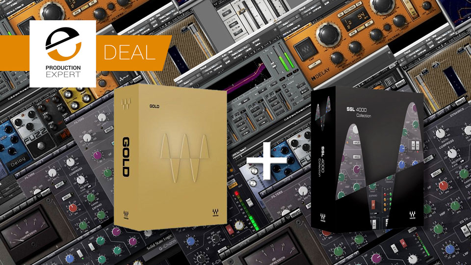 Buy Waves Gold Bundle For $199 And Get Waves SSL Collection Free Until March 22nd 2019