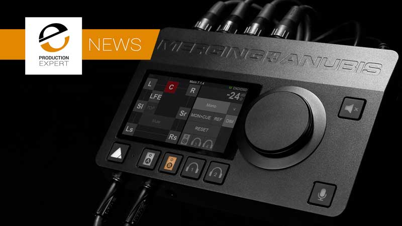 Merging Technologies Announce The New Anubis Desktop Interface Featuring Ravenna / AES67 Connectivity