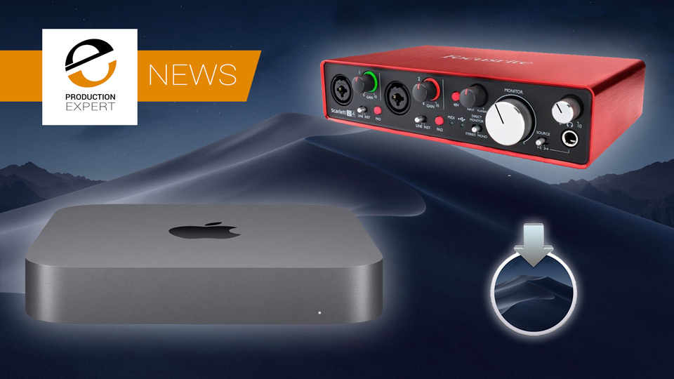 Apple Release macOS Mojave 10.14.4 Which Has Good News For Some USB Audio Interface Owners
