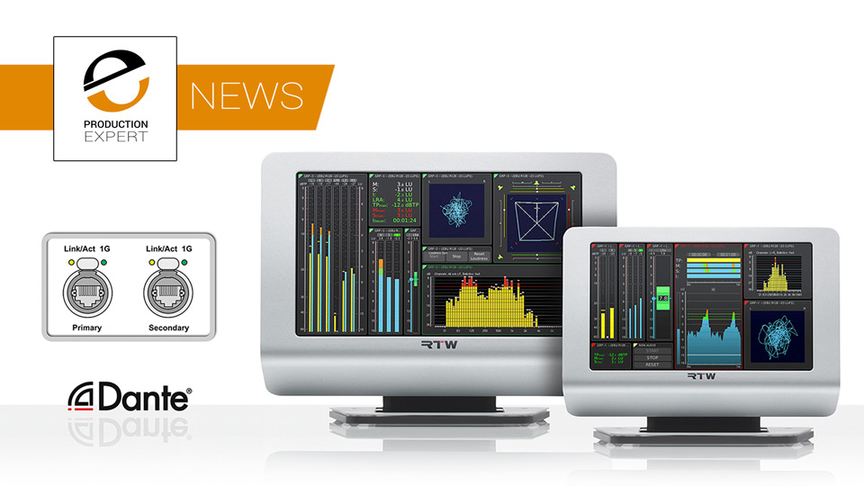 Dante And AES 67 Come To RTW TM7 And TM9 TouchMonitors