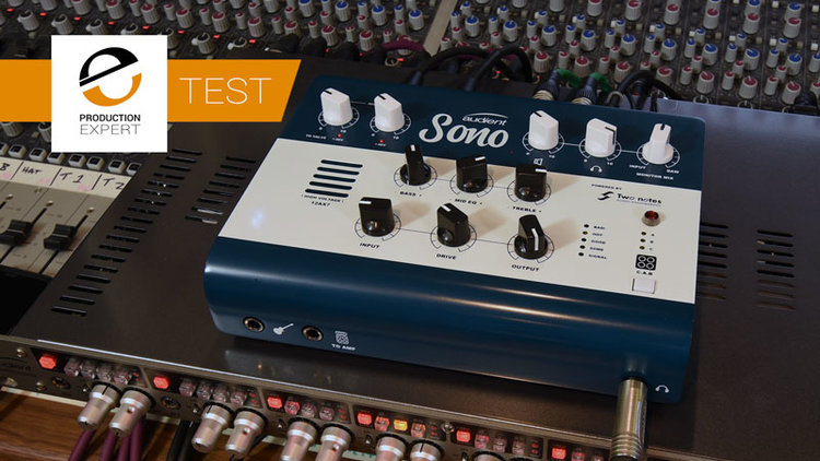 The Audient Sono Is A New Guitar Centric Audio Interface With Onboard DSP - We Use It In A Recording Session