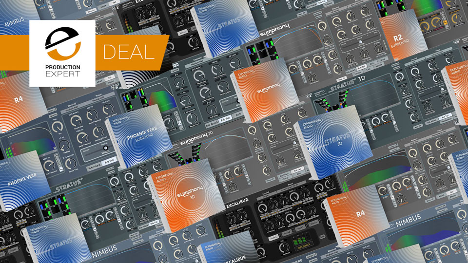 Izotope Offering Great Prices On Exponential Audio Plug-ins To Celebrate The Coming Together Of 2 Great Brands