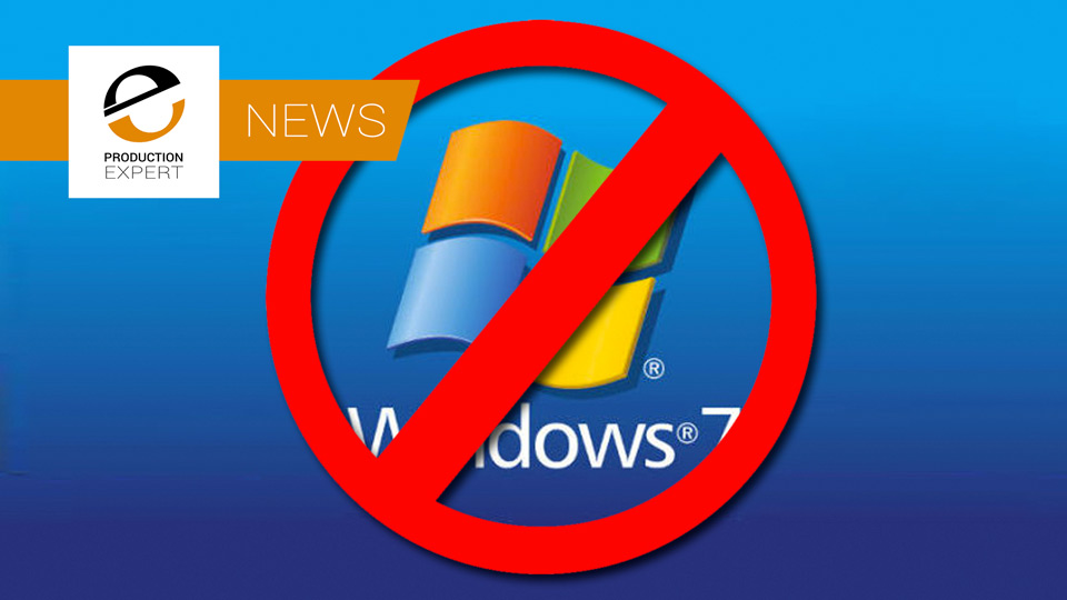 Rip Windows 7 Microsoft Announcing End Of Life For Windows 7 In January 2020 Production Expert