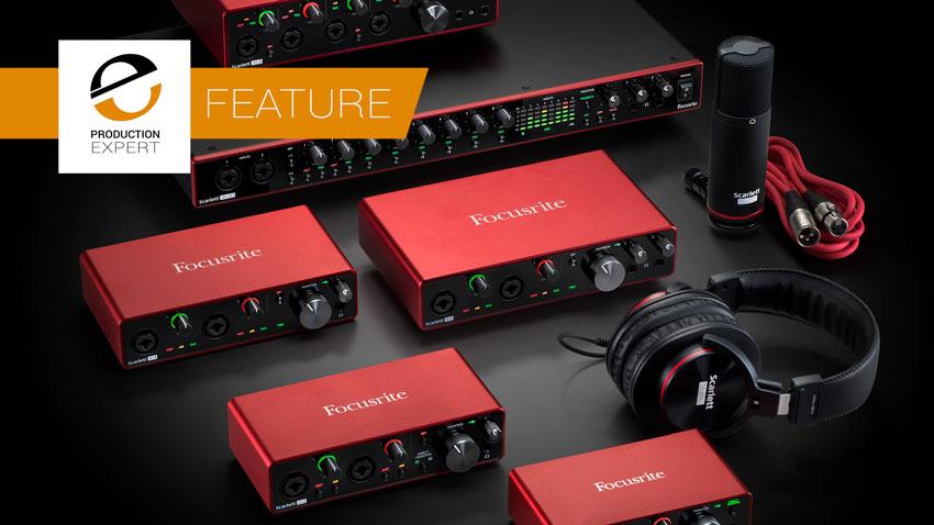 New Focusrite Scarlett 3rd Generation Interfaces - First