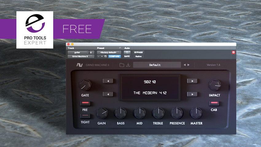 Friday Free Plug-in - Grind Machine II From Audio Assault