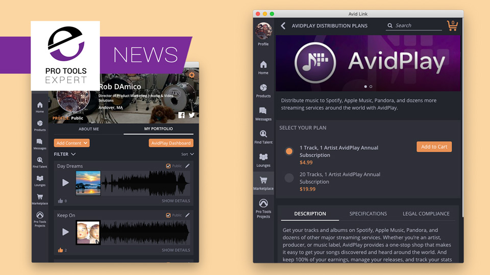 Avid Announce AvidPlay Music Distribution Service - What You
