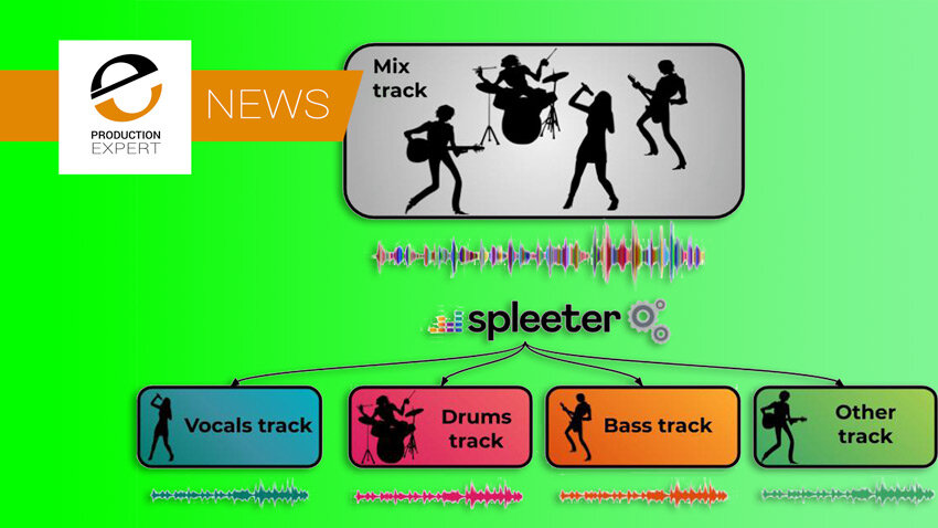 Spleeter Open Source Unmixing Software Creates Stems From Stereo Material Production Expert