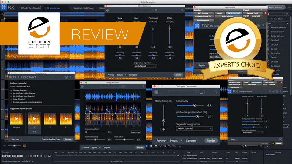 Review - iZotope RX6 And RX6 Advanced | Reviews
